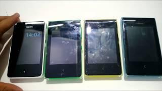 Nokia Asha 500, 502 and 503 Comparison with Nokia Asha 501