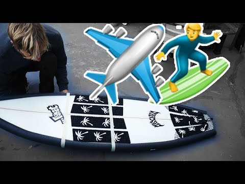 HOW TO PACK SURFBOARD FOR AIRPLANE TRAVEL