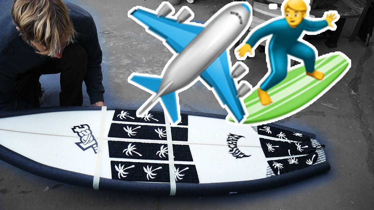 How to Pack a Surfboard for Travel