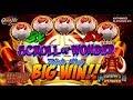 ☆NEW DELIVERY☆ SCROLL OF WONDER Slot Bonuses BIG WIN