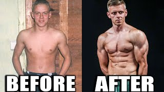 My Natural Body Transformation (Hardgainer Calisthenics Guide!)