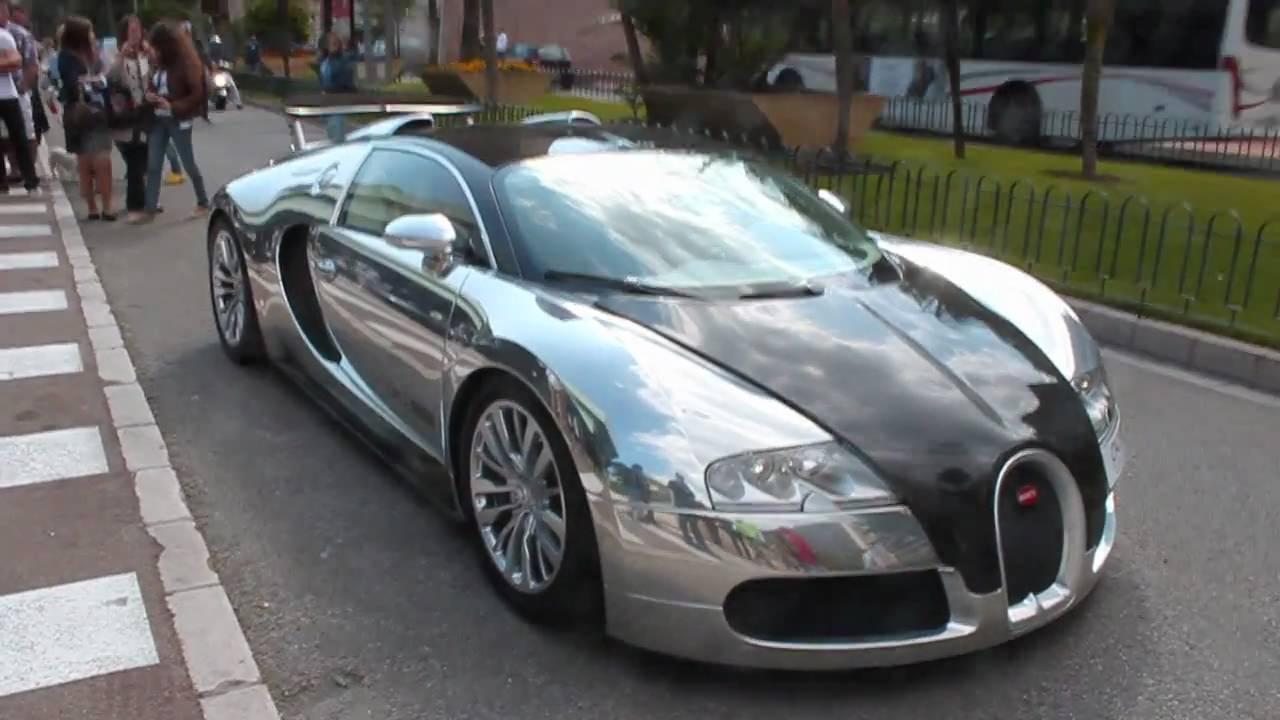 0 100 bugatti veyron pur sang acceleration in monaco youtube. Black Bedroom Furniture Sets. Home Design Ideas