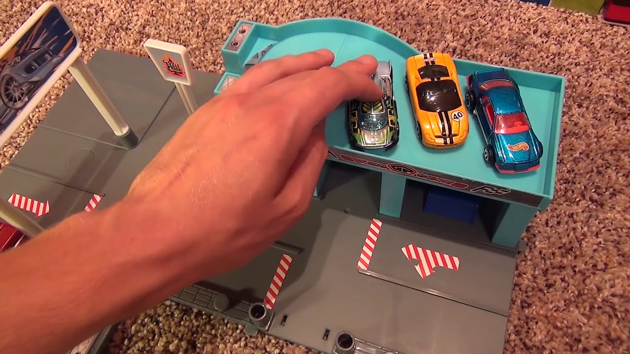 Hot Wheels City Sets Garage Playset World Review Youtube