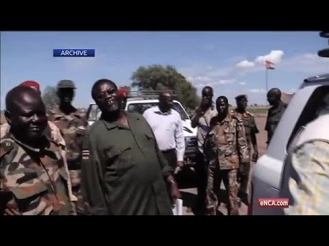 South Sudanese rebel leader in SA