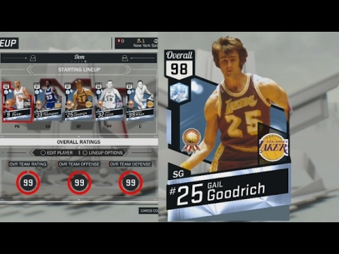 NBA 2K17 MyTEAM - Every UPGRADED Historic Domination Reward! Who's The Best Pick??