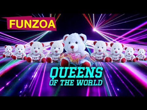 QUEENS OF THE WORLD - INTERNATIONAL GIRL CHILD DAY SONG   FUNZOA MIMI TEDDY SONG   SONG FOR FRIENDS