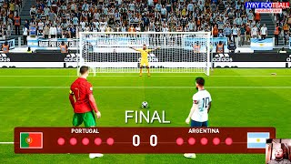 PES 2021 - Portugal vs Argentina Final - Penalty Shootout HD