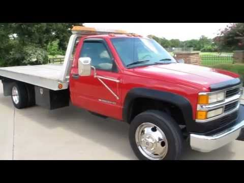 Chevy Silverado 3500HD, Century roll back wrecker, 77k miles, for