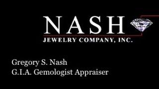 Nash Jewelry Company G.I.A. Gemologist Appraiser Est. 1955