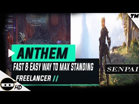 Anthem | First 10 |  Fast & Easy Way To Max Out Freelancer Loyalty Standing