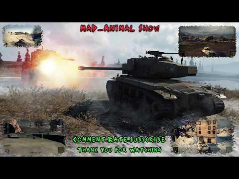 world-of-tanks-assault-t-29-&-m2-medium(platoon-gameplay)-#36-hd