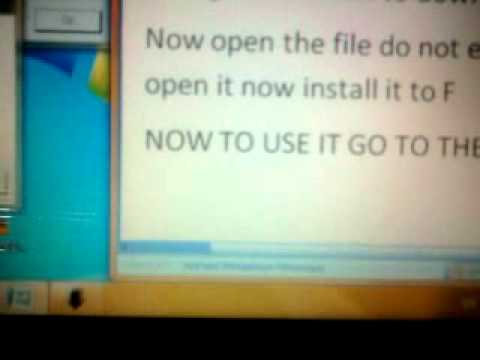 How To Put Windows Xp To Your Psp!!
