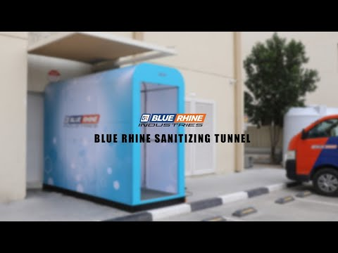 Blue Rhine Sanitizing Tunnel
