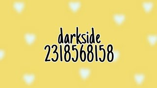 Roblox Musik Codes-Nightcore-Darkside