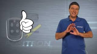 Teste de alcance da Função Presença nos alarmes Pósitron