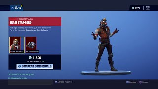 BUYING THE NEW SKIN *STAR LORD* IN FORTNITE