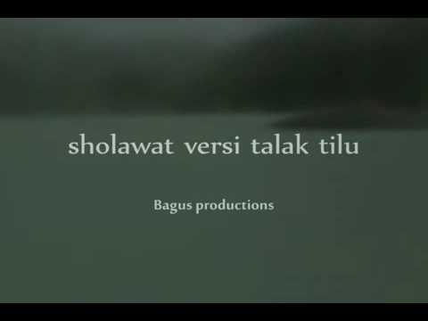 Sholawat versi talak tilu lirik by bagus