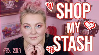 Rediscovering The Makeup I Already Own!! // Feb. 2019 Shop My Stash! | Lauren Mae Beauty