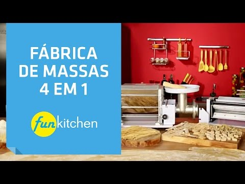 Fábrica de Massas 4 em 1 Fun Kitchen | Shoptime