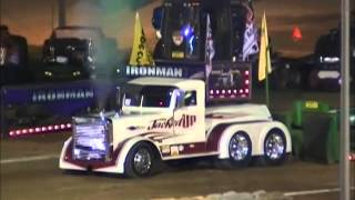 NTPA GRAND NATIONAL SUPER SEMI TRUCKS AT THE 28TH ANNUAL ENDERLE PULLOFF URBANA, OH SEPTEMEBER 13, 2