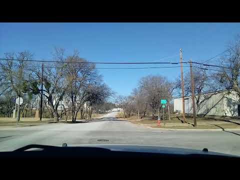 DRIVING MARBLE FALLS TEXAS