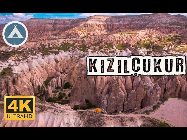 Kızılçukur Vadisi | Kapadokya [Drone 4K]