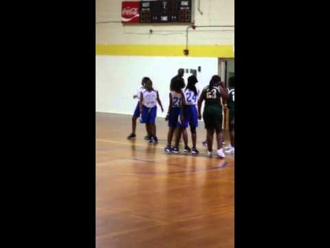 Denmark Olar Middle School Girls Bball
