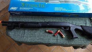 Review Shotgun 12 Airsoft - Spring