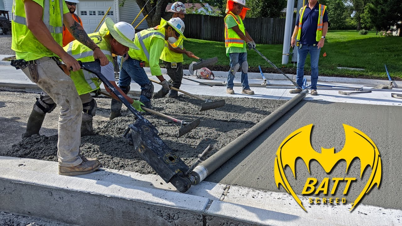 Batt Screed Provides Simple Use With Great Results