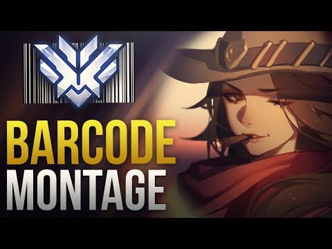 Barcode - #1 World Female DPS GOD - Overwatch Montage