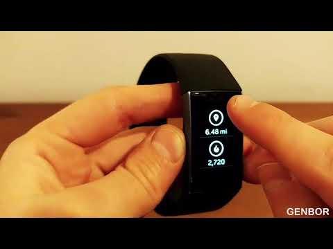 ПОЛНЫ ОБЗОР Fitbit charge 3 НА РУССКОМ!