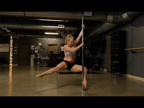 Vocations: Pole fitness focuses on building major strength and endurance
