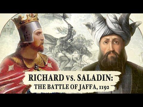 Richard vs. Saladin: Their Final Battle - Jaffa, 1192