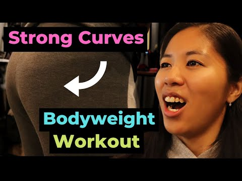 Strong Curves Bodyweight Workout A At Home Week 1-4