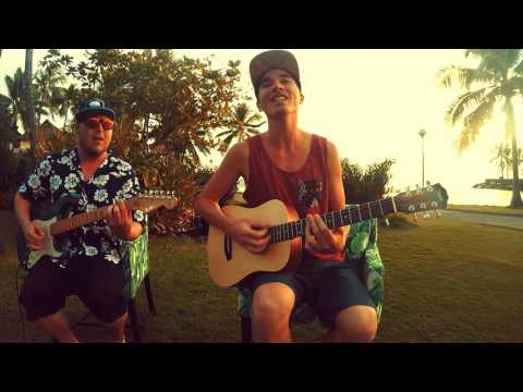 KBong - One More Song (feat. Johnny Cosmic) Acoustic Live in Tahiti