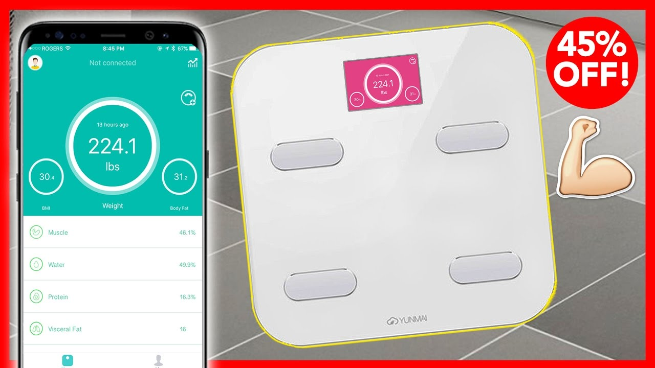 best wireless smart scale review track weight loss body fat