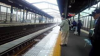 (レア 過去動画)JR四国 宇多津駅 岡山行き6000系普通列車 到着