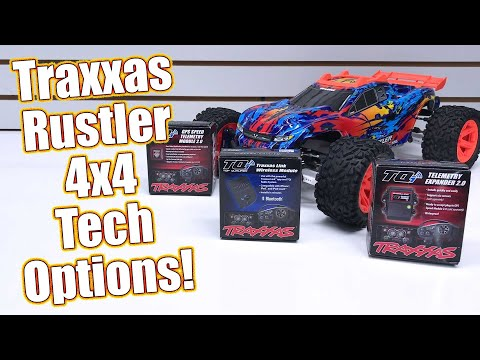 GPS Speed Telemetry Install! Traxxas Rustler 4x4 VXL Full Upgrade Project Truck Part 4 | RC Driver
