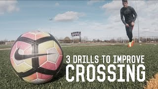 Improve Your Crossing Technique | Crossing Drills For Wingers | Individual Training For Footballers