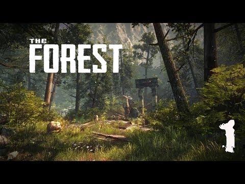 Прохождение The Forest - часть 1:Лес...просто ЛЕС!!!