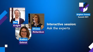 Brighter Futures Interactive session: Ask the experts