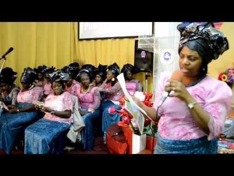 Rccg Miracle Centre Athens Precious Women Program 2014 (Vessel of Overflow)