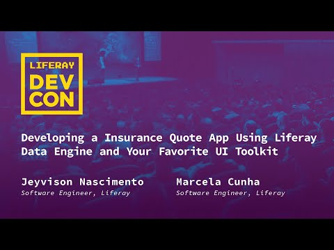 Developing an Insurance Quote App Using Liferay Data Engine and Your Favorite UI Toolkit