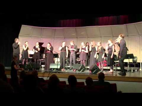Spring Jazz Concert - Mt Si HS - Vocal Jazz I - Senor Blues - 6-10-15
