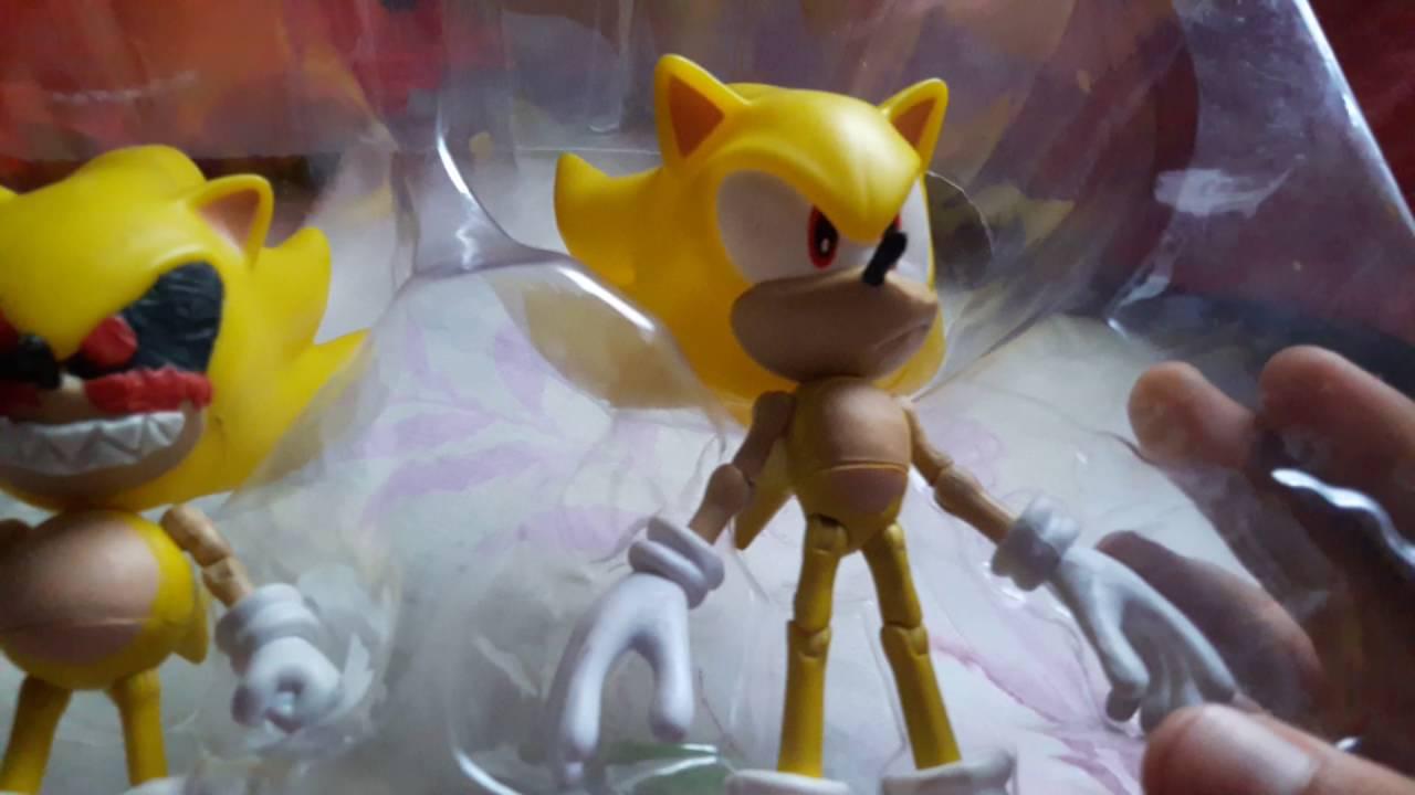 Juguetes De Super Sonic.exe Clasico Y Super Sonic Moderno