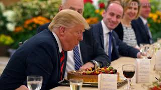 Trump-Kim summit: Early birthday celebrations and lunch for Donald Trump