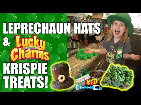 St Patrick's Day Tasty Treats - Juliet's Kid Kitchen