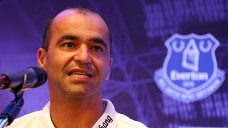 Roberto Martinez's Pre-WBA Press Conference
