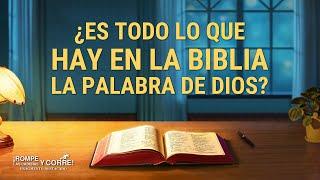 """Fragmento 2 de película evangélico """"Rompe las cadenas y corre"""": ¿Es todo lo que hay en la Biblia la palabra de Dios?"""