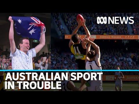COVID-19 Takes Huge Toll On Australian Sport | ABC News